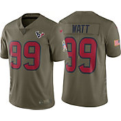 Nike Men's Home Limited Salute to Service Houston Texans J.J. Watt #99 Jersey