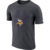 Nike Men's Minnesota Vikings Icon Performance Charcoal T-Shirt