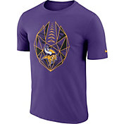 Nike Men's Minnesota Vikings Icon Performance Purple T-Shirt