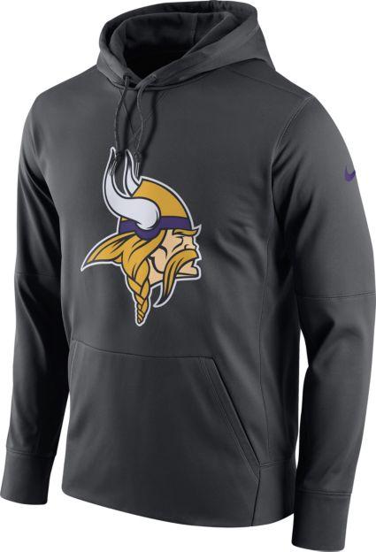 024b2c49e Nike Men s Minnesota Vikings Essential Logo Anthracite Hoodie. noImageFound