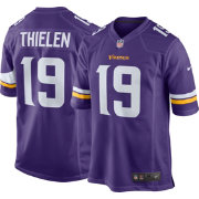 Nike Men's Home Game Jersey Minnesota Vikings Adam Thielen #19