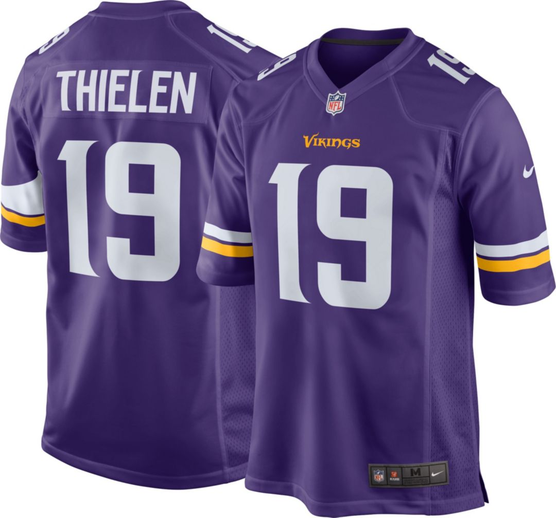 newest collection dd071 82343 Nike Men's Home Game Jersey Minnesota Vikings Adam Thielen #19