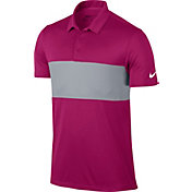 Nike Men's Breathe Color Block Golf Polo
