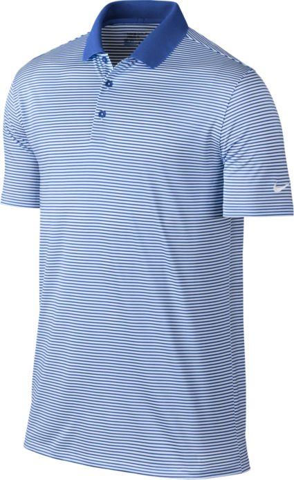 Nike Men's Victory Mini Stripe Golf Polo