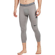 Nike Men's Pro 3/4 Length Tights in Carbonheather/Coolgry/Blk