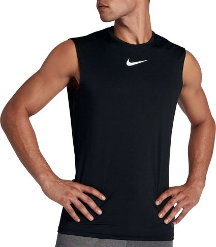 69a62f32a Nike Pro Men's Fitted Sleeveless Shirt | DICK'S Sporting Goods