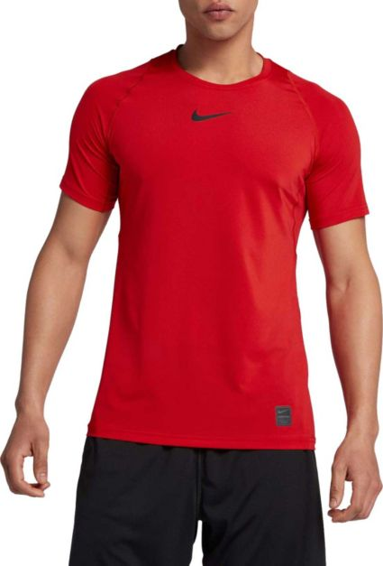 0786a7b7 Nike Men's Pro Fitted T-Shirt