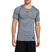 newest e1737 fe26c Nike Men s Pro Heather Printed Fitted T-Shirt