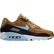 2eddcb6a3 Product Image · Nike Men's Air Max '90 Essential Shoes in Blue/Tan