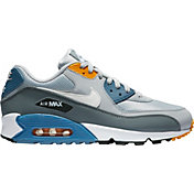 info for 9c5ad 78950 Product Image · Nike Men s Air Max  90 Essential Shoes in Grey Blue