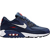the best attitude 3669b 76fab Product Image · Nike Men s Air Max  90 Essential Shoes in  Navy White University Red