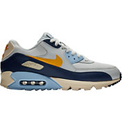 hot sales ea720 bc37f Product Image · Nike Men s Air Max  90 Essential Shoes in Navy Yellow