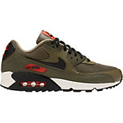 f2ac716456 Product Image · Nike Men's Air Max '90 Essential Shoes in Olive/Black