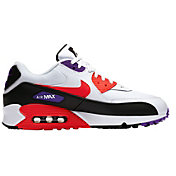 Nike Men's Air Max '90 Essential Shoes in Red/Purple