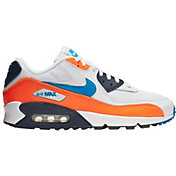 Nike Men's Air Max '90 Essential Shoes in White/Blue