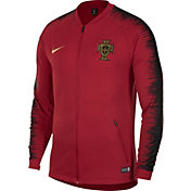 Nike Men's 2018 FIFA World Cup Portugal Anthem Red Full-Zip Jacket
