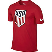 Nike Men's USA Crest Red T-Shirt