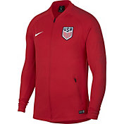 Nike Men's USA Soccer Anthem Red Full-Zip Jacket