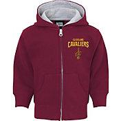 NBA Toddler Cleveland Cavaliers Burgundy Full-Zip Hoodie