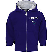 NBA Toddler Charlotte Hornets Purple Full-Zip Hoodie