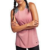 Nike Loose Woven Breathe Tank Top