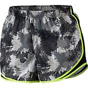 Nike Women's Plus Size Chalkdust Printed Tempo Shorts