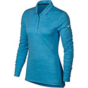 Nike Women's Dry Long Sleeve Golf Polo