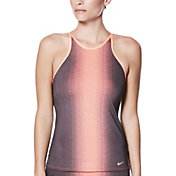 Nike Women's Fade Sting Adjustable High Neck Tankini