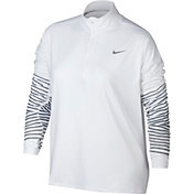 Nike Women's Plus Size Dry Element Flash Running Shirt