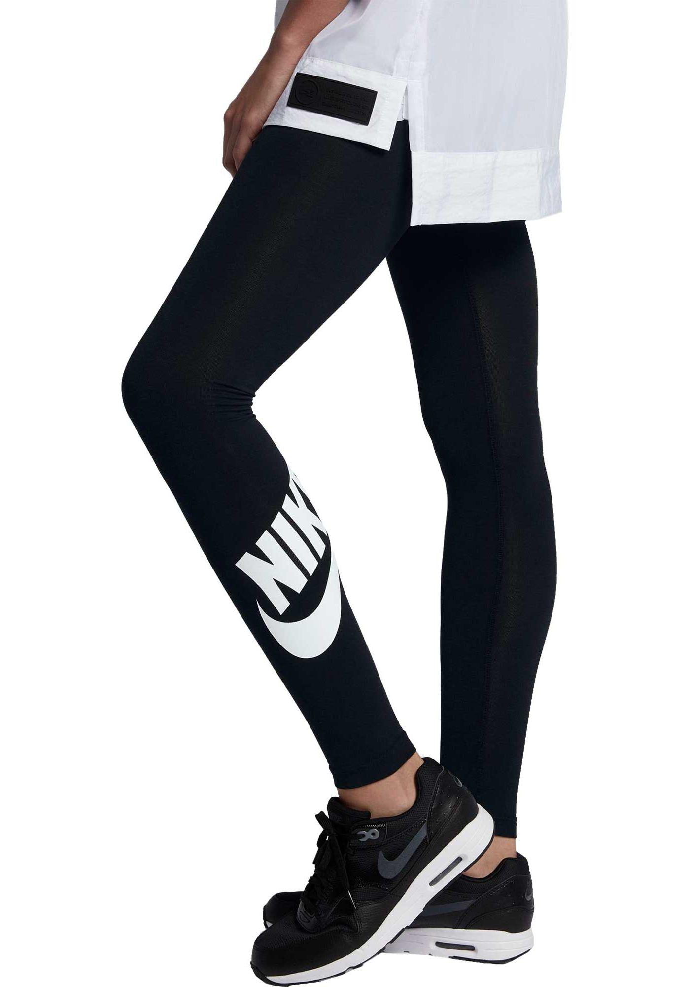 Nike Women's Sportswear High Waisted Leg-A-See Graphic Tights