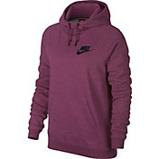 Nike Women's Sportswear Heatherized Rally Hoodie