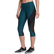 Nike Women's Power Legend Veneer Mesh Capris