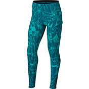 Nike Girls' Sportswear Mashup Printed Tights