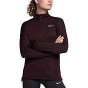 Nike Women's Therma Sphere Element Long Sleeve Half Zip Running Shirt
