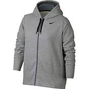 Nike Women's Plus Size Dry Full Zip Hoodie