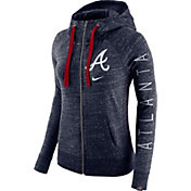 Nike Women's Atlanta Braves Vintage Full-Zip Hoodie
