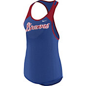Nike Women's Atlanta Braves Dri-FIT Wordmark Tank Top