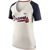 Nike Women's Atlanta Braves Fan V-Neck Shirt