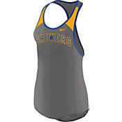 Nike Women's Milwaukee Brewers Dri-FIT Wordmark Tank Top