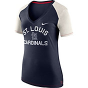 Nike Women's St. Louis Cardinals Fan V-Neck Shirt