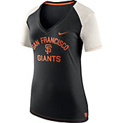 Nike Women's San Francisco Giants Fan V-Neck Shirt