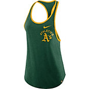 Nike Women's Oakland Athletics Tri-Blend Tank Top
