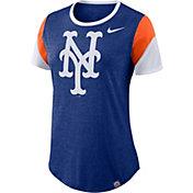 Nike Women's New York Mets Tri-Blend T-Shirt