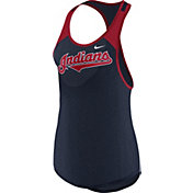 Nike Women's Cleveland Indians Dri-FIT Wordmark Tank Top