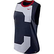 Nike Women's Cleveland Indians Dri-Blend Tank Top