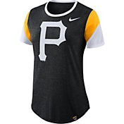Nike Women's Pittsburgh Pirates Tri-Blend T-Shirt