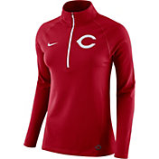 Nike Women's Cincinnati Reds Dri-FIT Core Half-Zip Jacket
