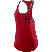 Nike Women's Cincinnati Reds Tri-Blend Tank Top