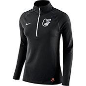 Nike Women's Baltimore Orioles Dri-FIT Core Half-Zip Jacket