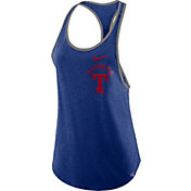 Nike Women's Texas Rangers Tri-Blend Tank Top